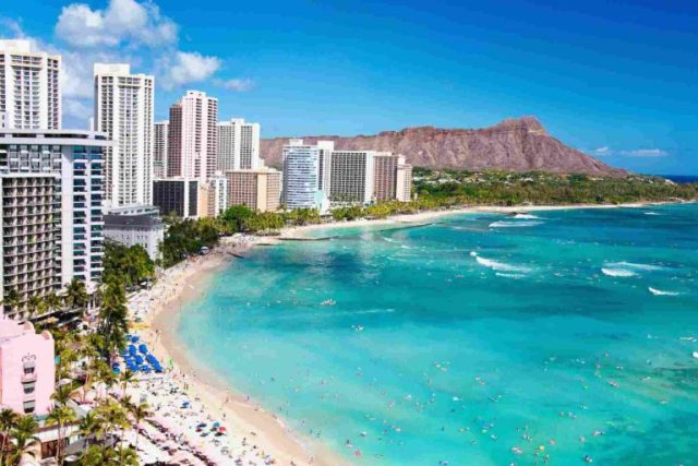 How Many More Millions did Hawaii Hotels Earn Last Month?