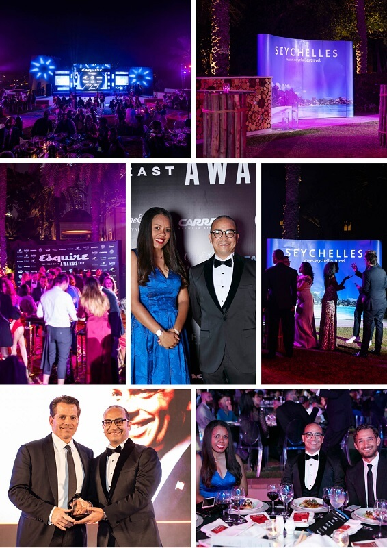 Seychelles Tourism Board Partners with Esquire Middle East Awards to Celebrate Industry's Best
