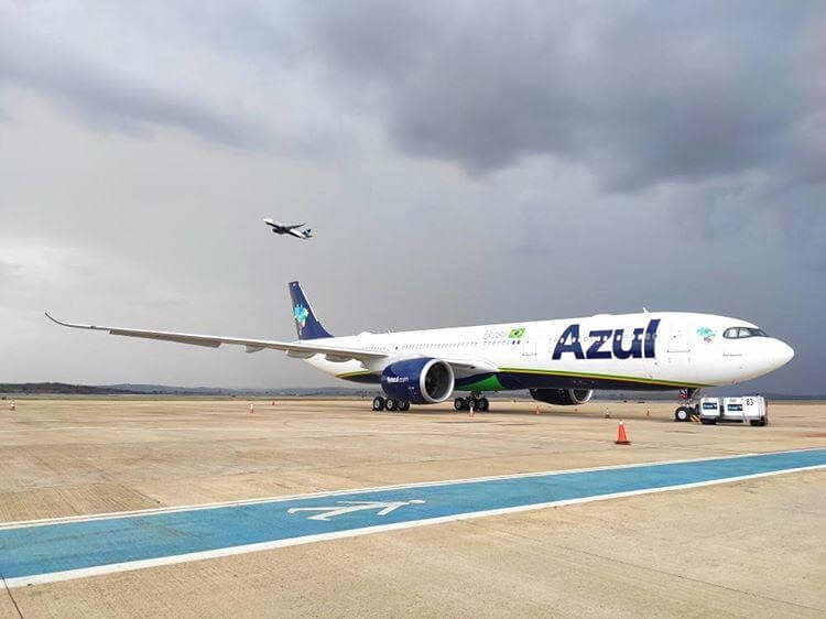 Brazil's Azul flies to New York's JFK Airport