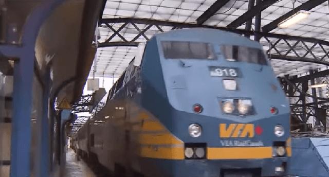 Via Rail Canada cancels all services on CN Rail network
