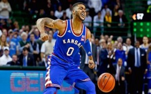 Kansas No. 2 beats  Baylor No.19