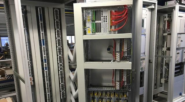 Panelenbouw in werkplaats