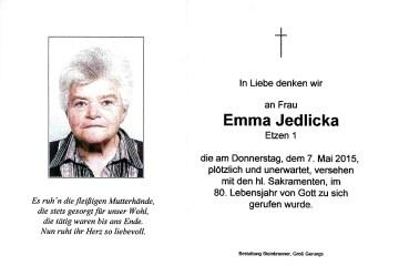Jedlicka Emma