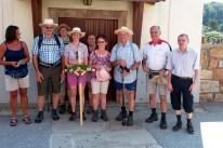 Die Pilgergruppe