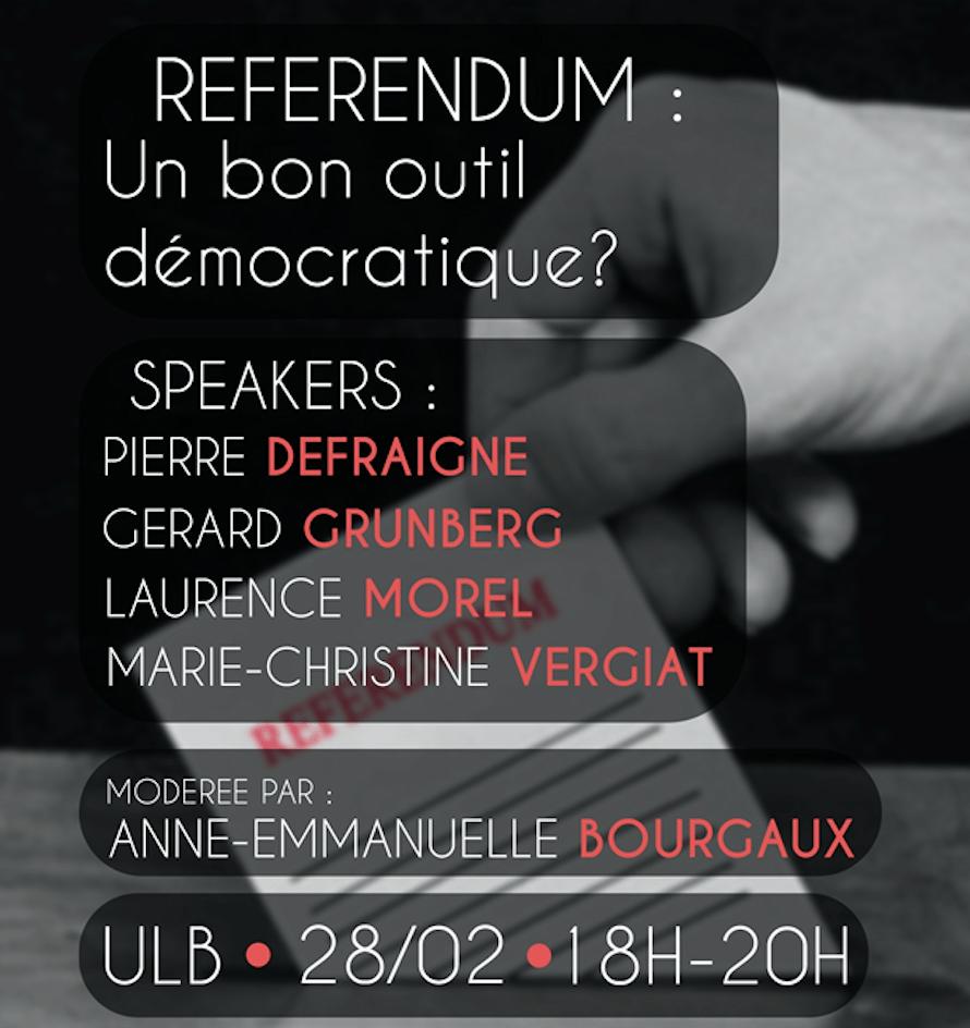 Le référendum: un bon instrument démocratique?