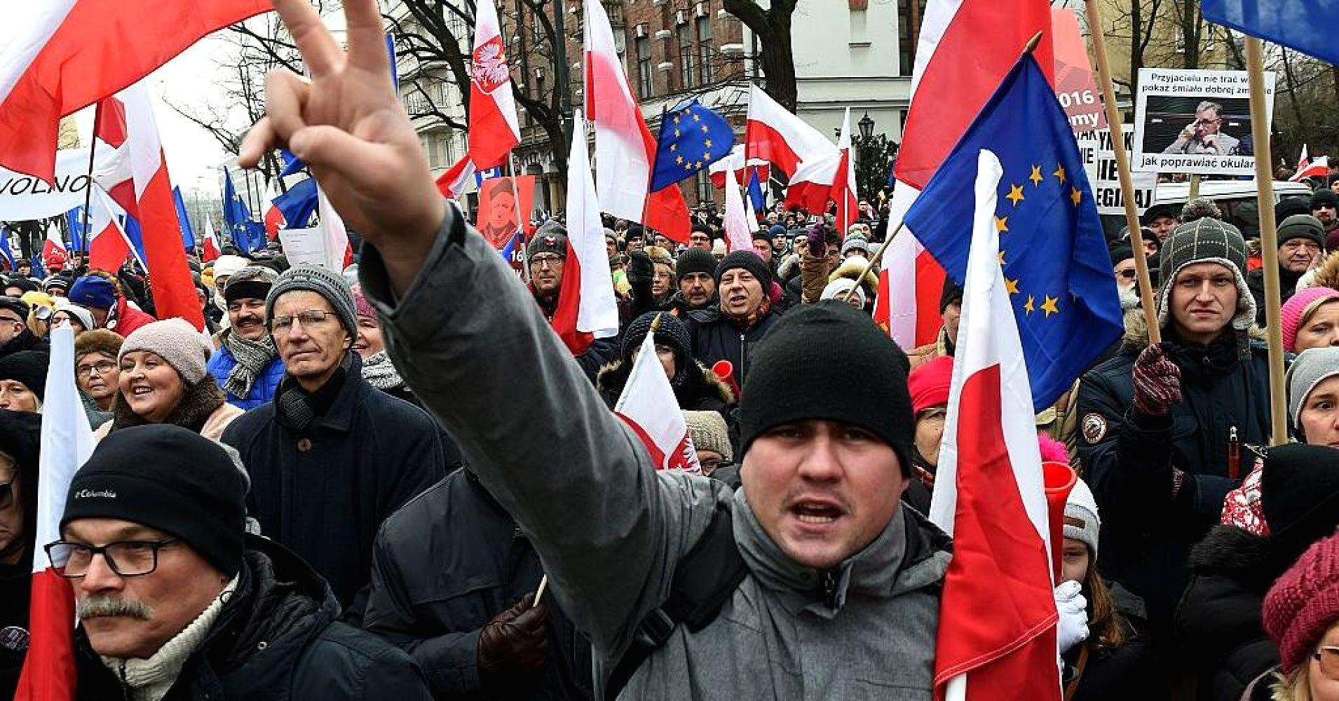 """#FactOfTheDay 07/11/2017: In Poland, for the rule of law there is still a """"serious threat"""""""