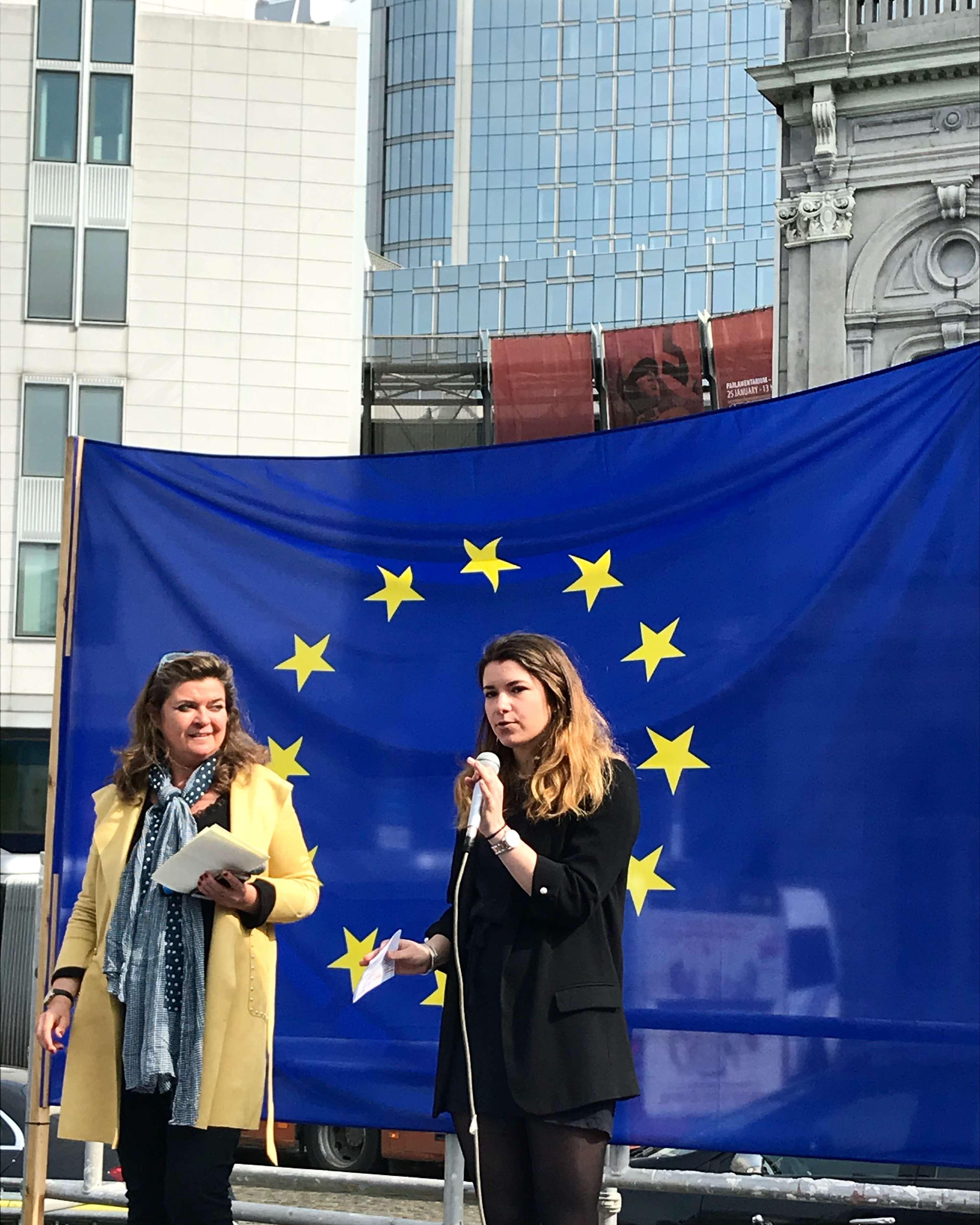 25/03/2018 (European Citizen Platform): Rassemblement citoyen «Osons l'Europe!»