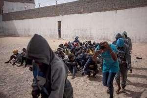 Pour les ONG, l'UE est «complice» de la détention des migrants en Libye