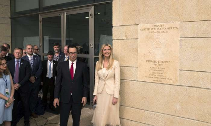 #FactOfTheDay 17/05/2018 :US Jerusalem embassy opening amid protests and repression