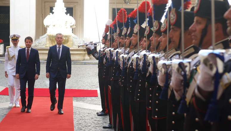 #FactOfTheDay 12/06/2018 – NATO Secretary General meets the new Italian Prime Minister