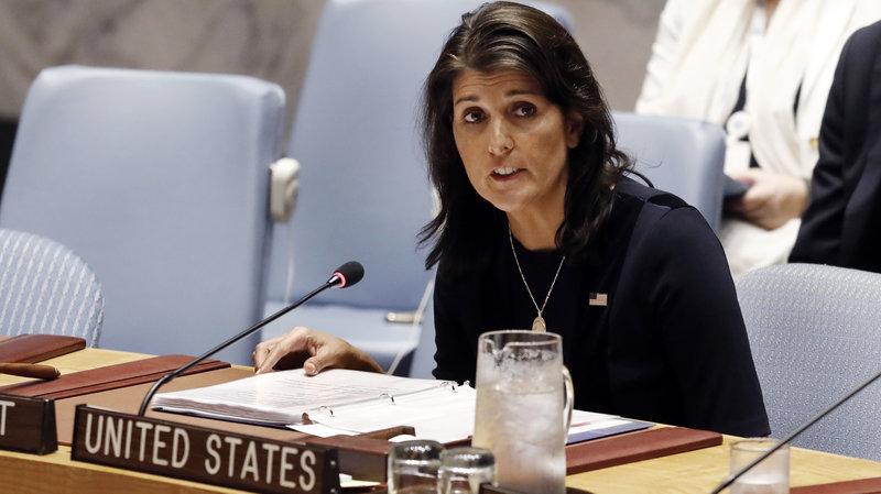 FactOfTheDay – 10/10/2018 : Nikki Haley resigns as UN ambassador