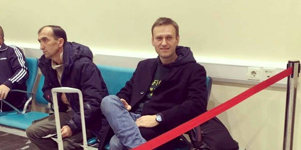 #FactOfTheDay 13/11/18 – Alexeï Navalny stopped at Russian border