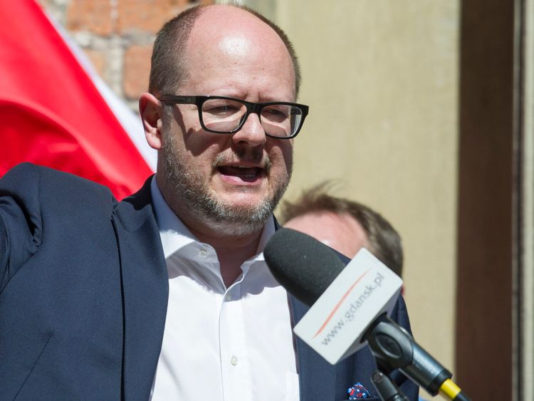 #FactOfTheDay 15/01/2019- Rallies in Poland after the assassination of Gdansk Mayor Pawel Adamowicz