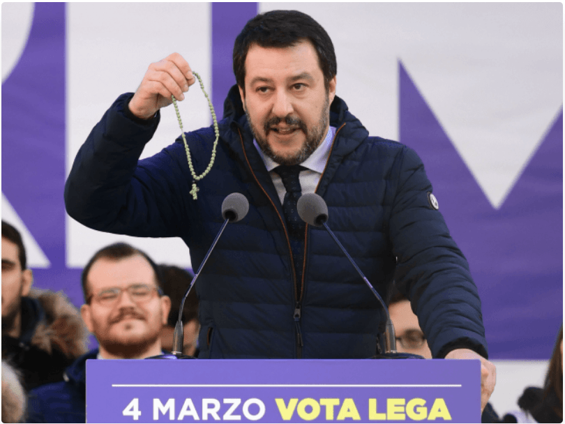 (Eyes on Europe) Matteo Salvini: The making of a modern despot?