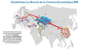 """Impact remarquable au coeur de l'Eurasie du nouveau pont transcontinental  ferroviaire des """"Routes de la Soie"""":  une grande opportunité pour dynamiser la Stratégie UE – Asie centrale."""