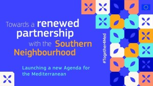 Another step of the Partnership with the Southern Neighbourhood: the New Agenda for the Mediterranean