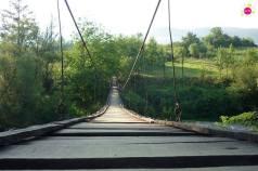 Podul suspendat din Chei