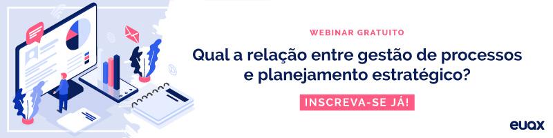 Qual a relação entre gestão de processos e planejamento estratégico?
