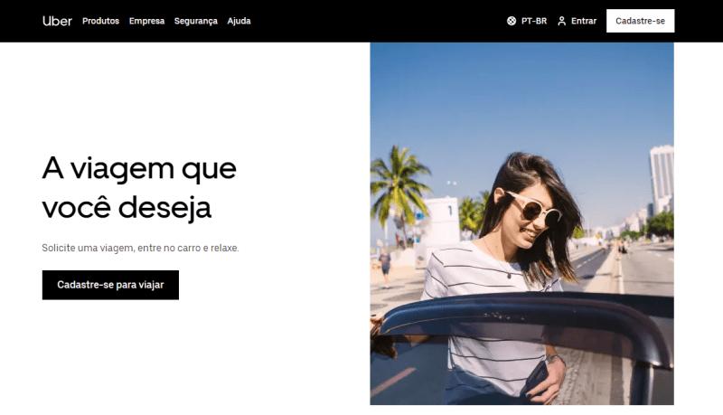 exemplo uber