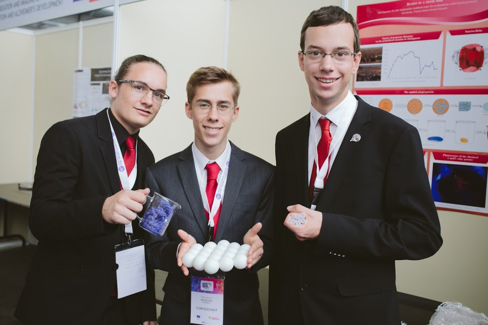 Creating Rubies with Chemistry – Interview with EUCYS 2016 Winners