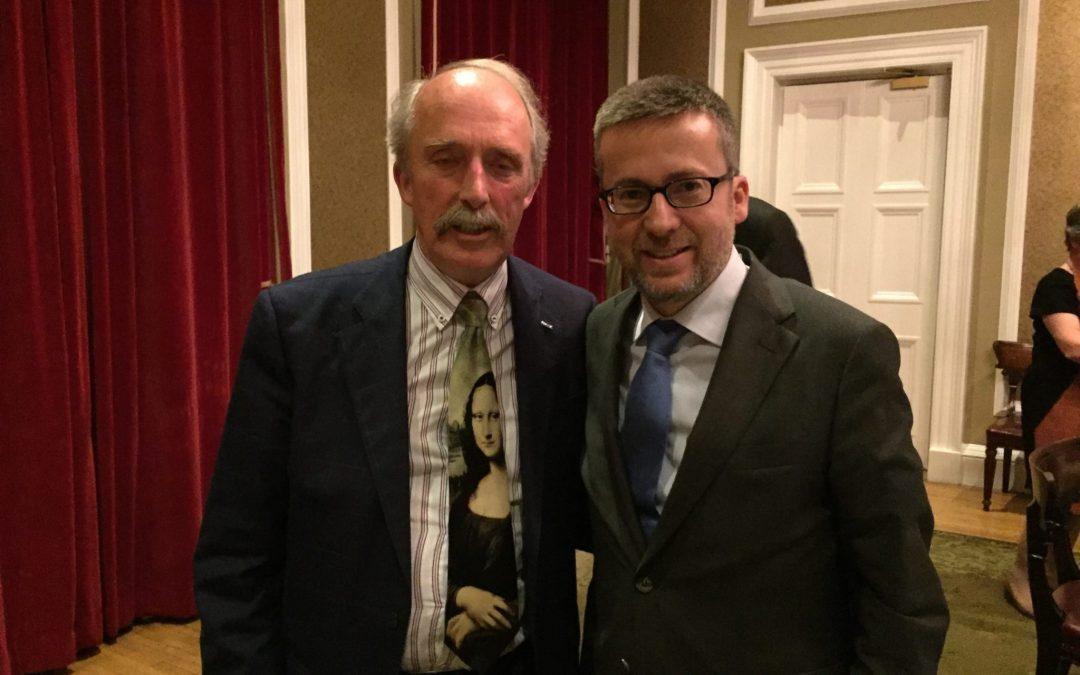 EuChemS President Meets Commissioner Moedas