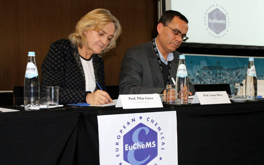 Signature of the MoU on ECC8 in Lisbon