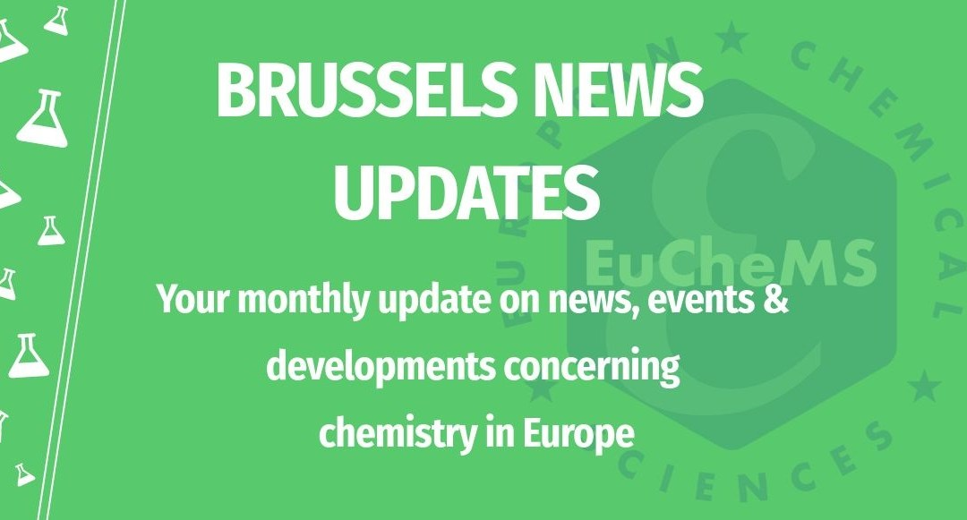 March edition of EuChemS Brussels News Updates out now!