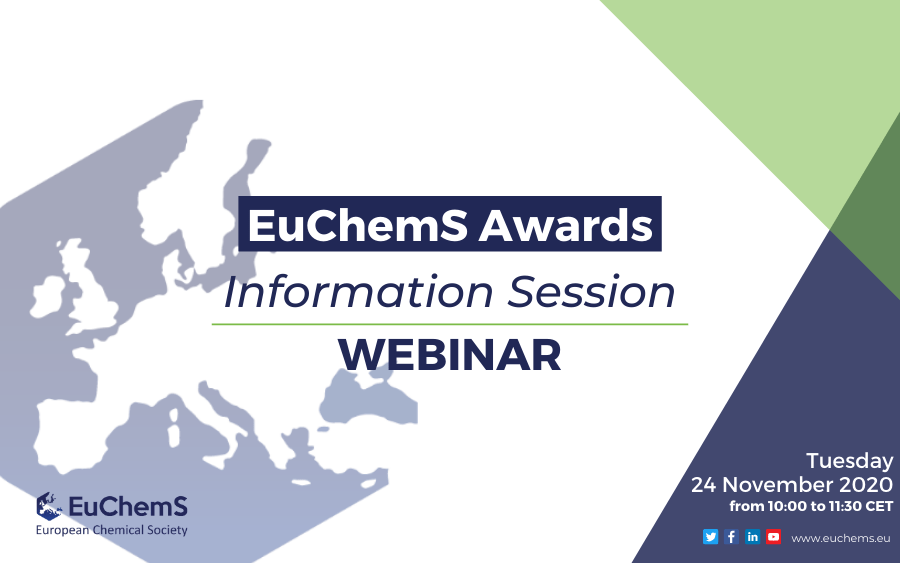 EuChemS Awards – Information Session