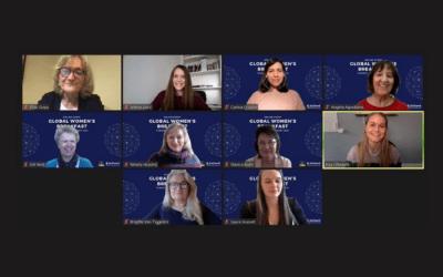 First EuChemS @Global Women's Breakfast 2021