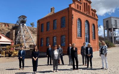 EuChemS Historical Landmarks Award plaque unveiled at Almadén mines, Spain