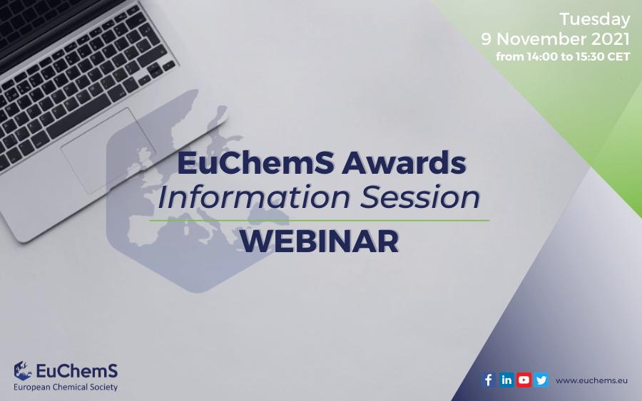 EuChemS Awards – Information Session 2021