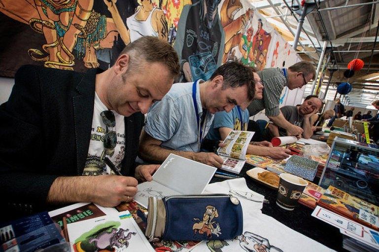 Copenhagen Comics: Forlaget Eudor præsenterer bl.a. Frank Madsen, Sussi Bech og Ingo Milton.