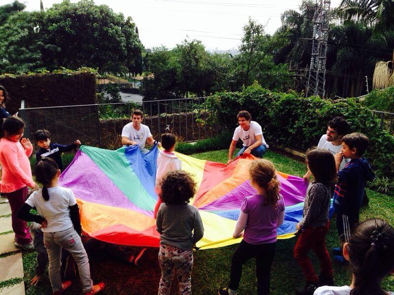 brincadeiras ao ar livre