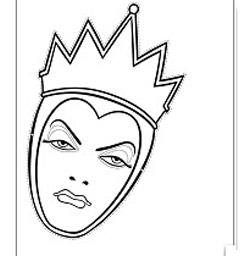 Máscara Rainha Má
