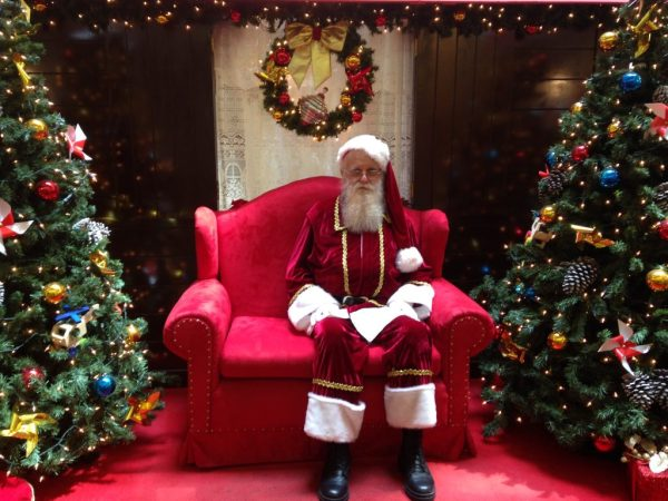 Papai Noel Shopping Via Brasil