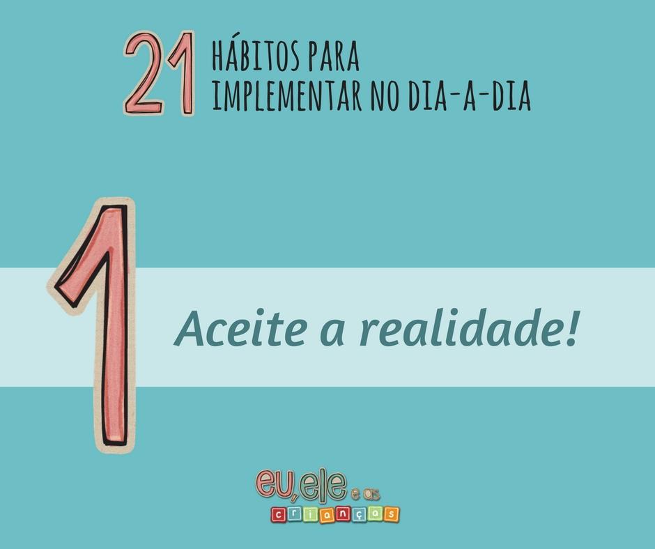 21 hábitos aceite a realidade