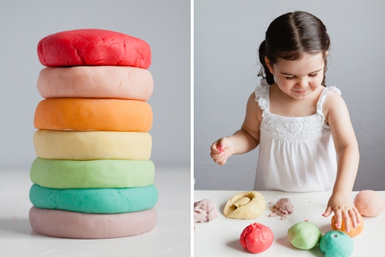 Massinhas coloridas para brincar - Modern Parents Messy Kids