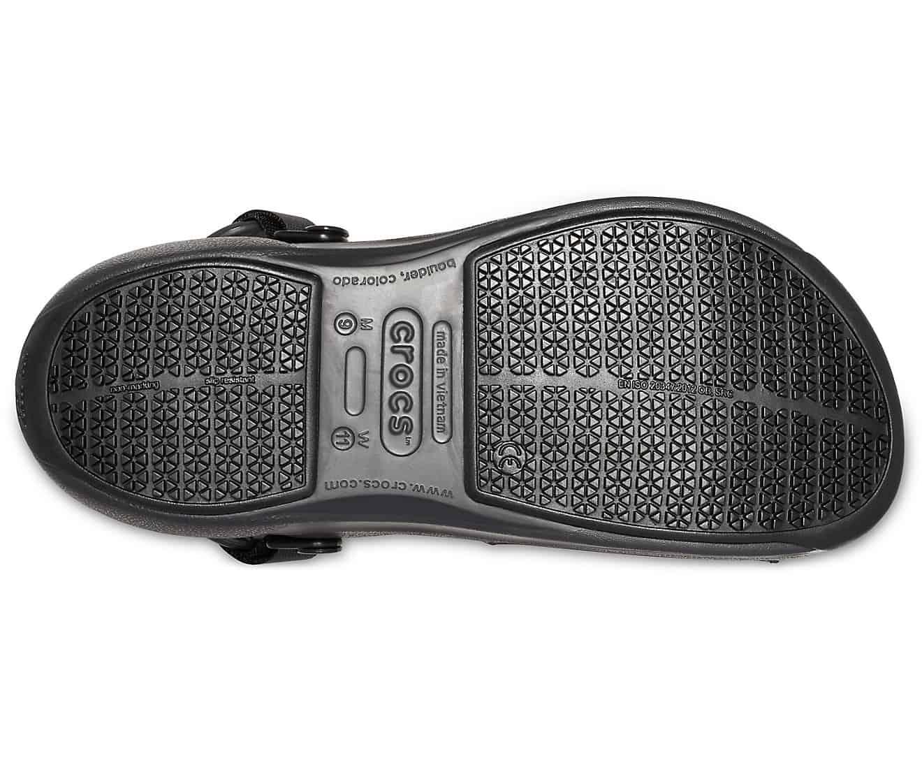 c7739a9b4 Crocs Bistro Pro LiteRide Clog Black 205669 - 001