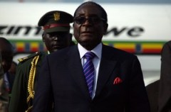 Zimbabwe's Robert Mugabe in Juba. Copyright: Aljazeera English