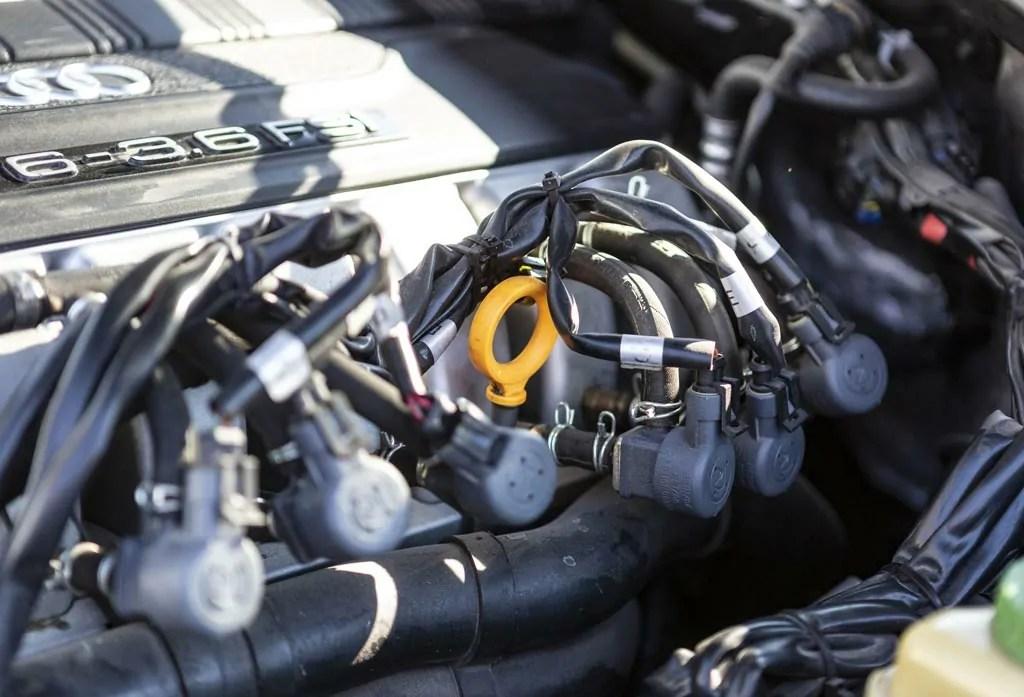 Impianto metano su Audi