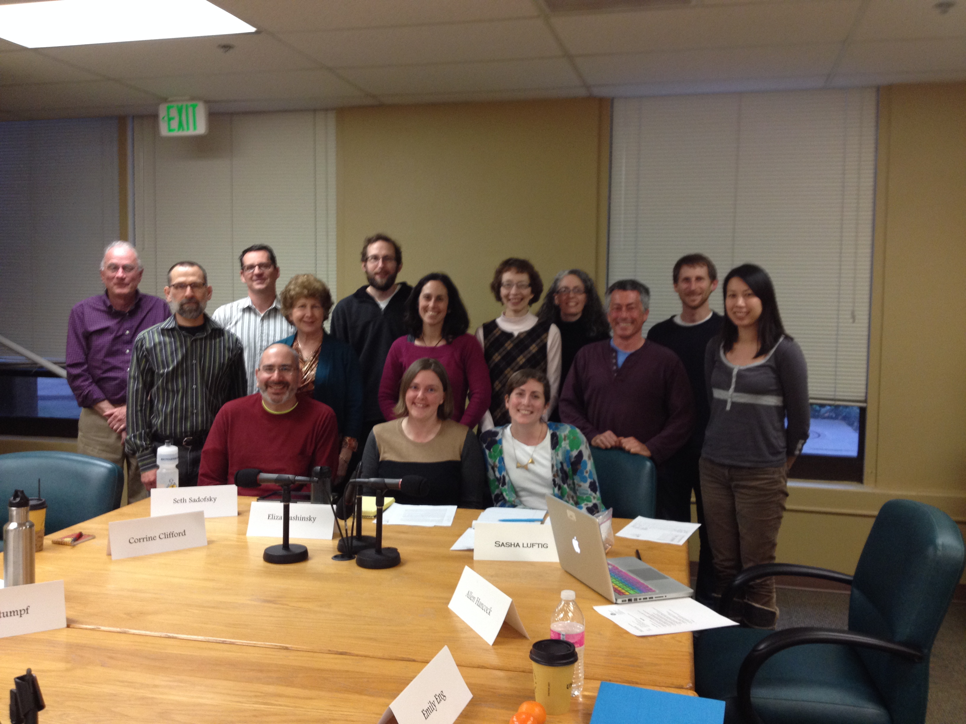 2014Bicycle Pedestrian Advisory Committee Photo