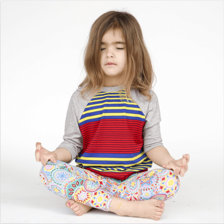 child meditation yoga