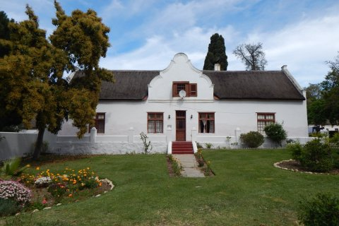 The former home of Governor Simon van der Stel in Mamre (Copyright: Eugene Yiga)