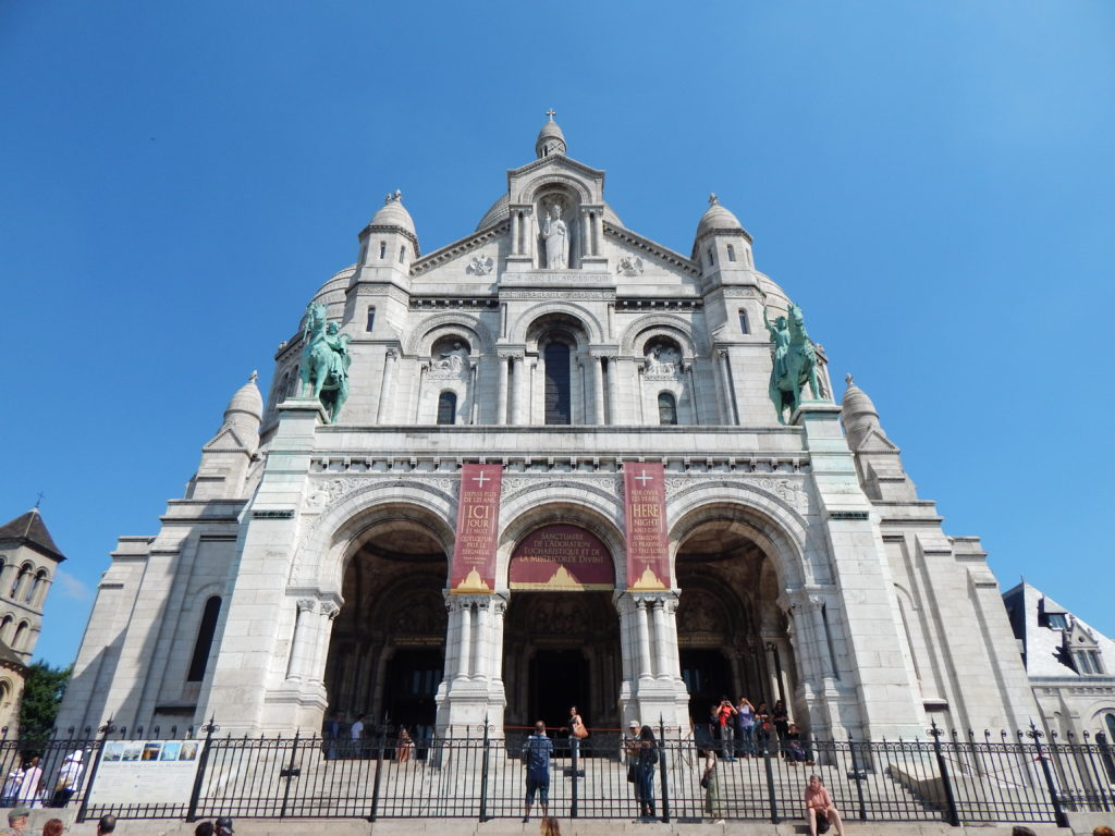 Sacré-Cœur in Paris (Copyright: Eugene Yiga)