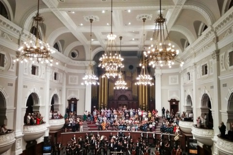 Cape Town Philharmonic Orchestra at City Hall (Copyright: Eugene Yiga)