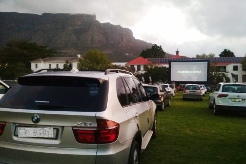 Galileo Drive-In Cinema at Cape Town High School (Copyright: Eugene Yiga)