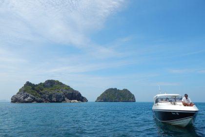 Sailing the islands of Thailand (Copyright: Eugene Yiga)