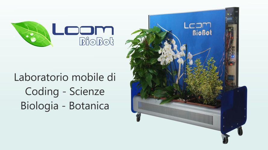 BioBot orto botanico mobile per il coding e le scienze con Arduino