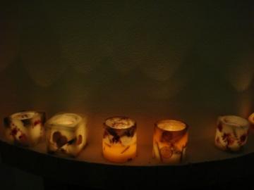 Σειρά Κεριά Εύκηρος με Θέμα τη Φύση