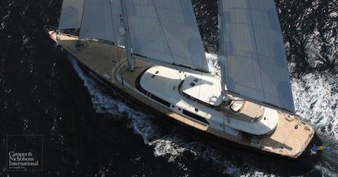 Yacht sur The Milliardaire